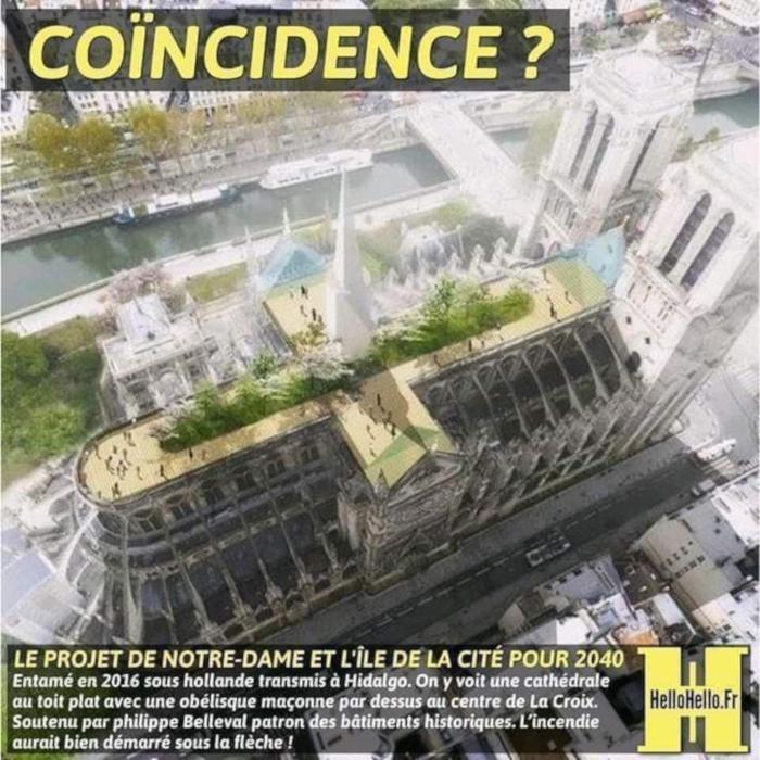 NOTRE DAME DE PARIS Projet-NotreDame