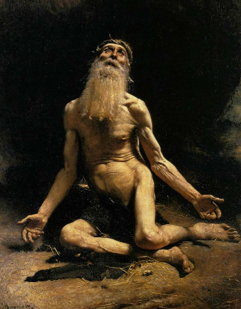 Job par Léon Bonnat