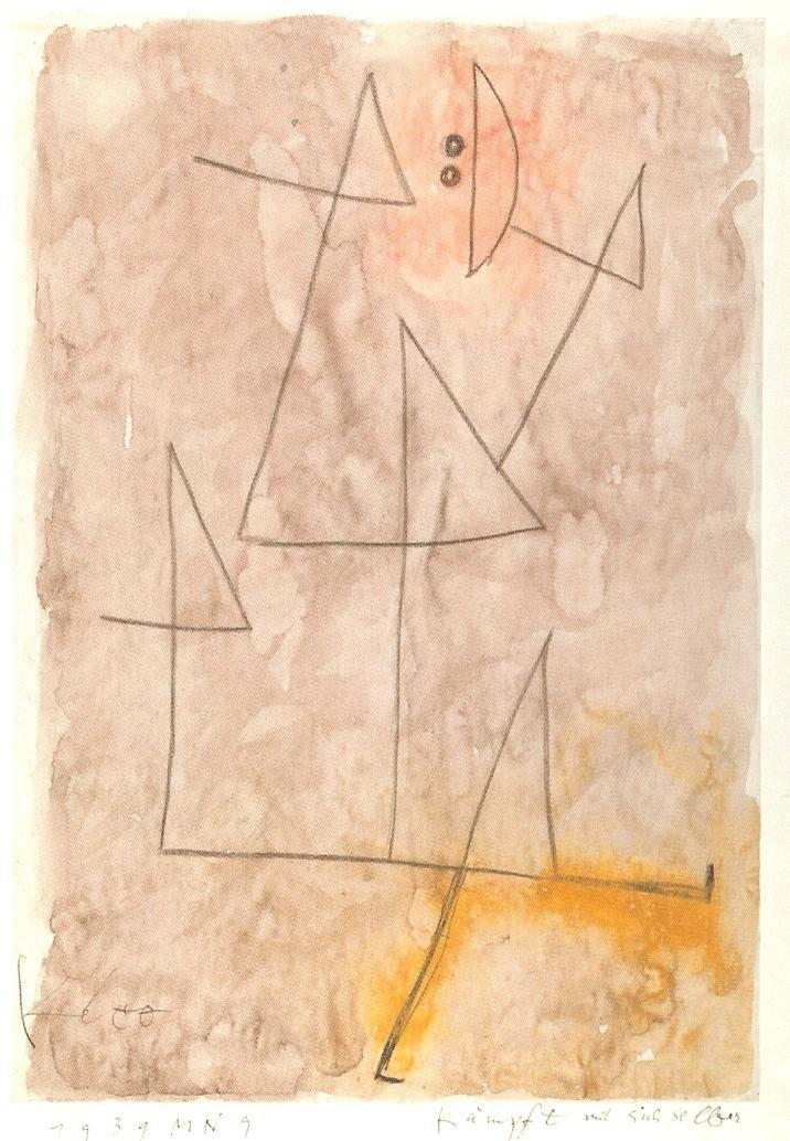 Struggling Against Oneself (Paul Klee)